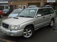 2000 SUBARU FORESTER 2.0 S TURBO AWD 5d AUTO 170 BHP £795.00