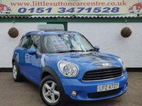 USED 2012 MINI COUNTRYMAN 1.6 ONE D 5d 90 BHP DIESEL, ONE OWNER, FULL DEALER HISTORY