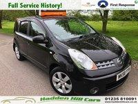 2008 NISSAN NOTE 1.6 TEKNA 5d AUTO 109 BHP £3995.00