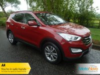 USED 2012 62 HYUNDAI SANTA FE 2.2 PREMIUM CRDI 5d 194 BHP Fantastic Value New Shape Hyundai Santa Fe with Satellite Navigation, Full Grey Leather, Climate Control, Cruise Control, Alloy Wheels and Service History