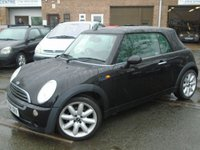 2004 MINI CONVERTIBLE 1.6 ONE 2d 89 BHP £2995.00