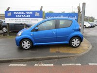 USED 2009 59 TOYOTA AYGO 1.0 BLUE VVT-I 5d 67 BHP 7 Stamps Of Service History .2 Former Keepers.New MOT & Full Service Done on purchase + 2 Years FREE Mot & Service Included After . 3 Months Russell Ham Quality Warranty . All Car's Are HPI Clear . Finance Arranged - Credit Card's Accepted . for more cars www.russellham.co.uk  - Spare key and book pack .