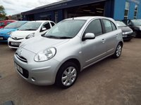 USED 2011 11 NISSAN MICRA 1.2 ACENTA 5d 79 BHP FULL SERVICE HISTORY