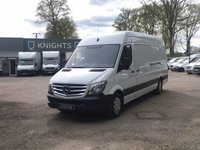 2016 MERCEDES-BENZ SPRINTER 2.1 313 CDI LWB WITH AIR CON £13995.00
