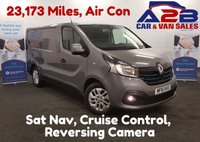 USED 2016 16 RENAULT TRAFIC SPORT 1.6 DCI SL27 115 BHP 23,173 Miles, Sat Nav, Bluetooth, Air Con, Reversing Camera *Over The Phone Low Rate Finance Available*   *UK Delivery Can Also Be Arranged*           ___       Call us on 01709 866668 or Send us a Text on 07462 824433