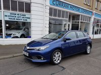USED 2015 65 TOYOTA AURIS 1.6 D-4D ICON 5d 110 BHP Toyota Warranty to Nov 2020