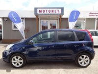 2010 NISSAN NOTE 1.6 TEKNA 5DR  AUTOMATIC  110 BHP £SOLD