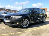 2009 BMW 1 SERIES 2.0 118D M SPORT 5d 141 BHP FULL BLACK LEATHER ONLY 53K £6990.00