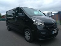 2015 RENAULT TRAFIC 1.6 SL29 BUSINESS ENERGY DCI S/R P/V 1d 120 BHP £7400.00