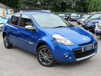 2012 RENAULT CLIO 1.1 GT LINE TOMTOM TCE 5d 100 BHP £4199.00
