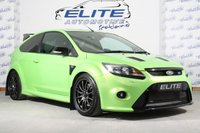 "USED 2010 59 FORD FOCUS 2.5 RS 3d 300 BHP STG 4/ LUX 1/2 /DYNAMICA SEATS + Pro Alloy Intercooler+2.5 inch Boost Pipes+ K&N Induction Kit+ MONGOOSE SECTION 59 Exhaust including Sport Cat and 3"" downpipe+Kevlar Timing Belt and Pulleys+ Egine Mount+Auto specialist Dump Valve+ Auto Specialist Plenum Manifold+ 650cc Injectors+ MAX'D OUT 400BHP Map+ Team Dynamics Pro Race 1.2 Alloys+B6 Billstein shock absorbers+ Eibach Spring Kit+ Ghost Alarm System!"