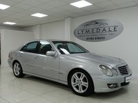 USED 2007 07 MERCEDES-BENZ E CLASS 3.0 E280 CDI AVANTGARDE 7G - Tronic 4 dr SATELLITE NAVIGATION, FULL LEATHER, LONG MOT 15.2.19