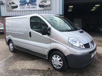 2014 RENAULT TRAFIC SWB 6 SPEED 115BHP METALLIC PAINT ELEC PACK *CLEAN VAN* £7250.00