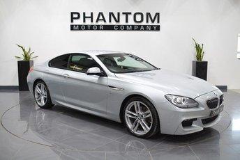 2015 BMW 6 SERIES 3.0 640D M SPORT 2d AUTO 309 BHP £21990.00