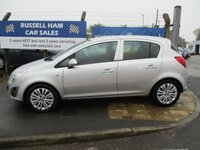 USED 2011 61 VAUXHALL CORSA 1.2 EXCITE AC 5d 83 BHP 5 Stamps Of Service History .1 Owner Car .New MOT & Full Service Done on purchase + 2 Years FREE Mot & Service Included After . 3 Months Russell Ham Quality Warranty . All Car's Are HPI Clear . Finance Arranged - Credit Card's Accepted . for more cars www.russellham.co.uk  -  book pack .