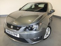 2012 SEAT IBIZA 1.6 CR TDI FR 5d 104 BHP £5290.00