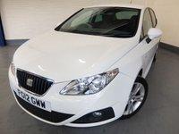 2012 SEAT IBIZA 1.4 SE COPA 5d 85 BHP £5290.00