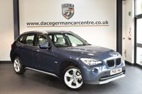 USED 2012 61 BMW X1 2.0 XDRIVE20D SE 5DR AUTO 174 BHP + FULL CREAM LEATHER INTERIOR + FULL BMW SERVICE HISTORY + 1 OWNER FROM NEW + SATELLITE NAVIGATION + BLUETOOTH + HEATED SPORT SEATS + CRUISE CONTROL + PARKING SENSORS + 18 INCH ALLOY WHEELS +