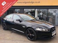 2015 JAGUAR XF 3.0 D V6 R-SPORT BLACK 4d AUTO 240 BHP £16994.00