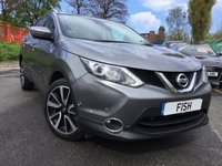 USED 2014 64 NISSAN QASHQAI 1.5 DCI TEKNA 5d 108BHP 1OWNER+FSH+TOP SPEC+LEATHER+