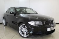 USED 2008 08 BMW 1 SERIES 3.0 135I M SPORT 2DR 302 BHP HEATED LEATHER SEATS + PARKING SENSOR + CRUISE CONTROL + MULTI FUNCTION WHEEL + AUXILIARY PORT + AIR CONDITIONING + 18 INCH ALLOY WHEELS
