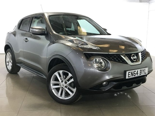 View our 2015 64 NISSAN JUKE 1.6 ACENTA XTRONIC 5d AUTO 117 BHP