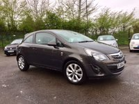 2014 VAUXHALL CORSA 1.2 EXCITE AC 3d  1 OWNER FROM NEW WITH SERVICE HISTORY  £5500.00