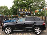 2015 MERCEDES-BENZ M CLASS 3.0 ML350 BLUETEC AMG LINE 5d AUTO 255 BHP £24499.00