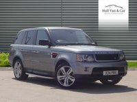 2012 LAND ROVER RANGE ROVER SPORT 3.0 SDV6 HSE RED 5d AUTO 255 BHP £20995.00