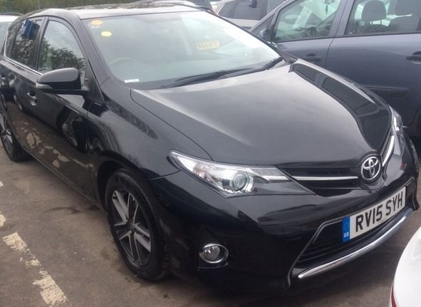 2015 15 TOYOTA AURIS 1.4 D-4D ICON PLUS 5d 89 BHP