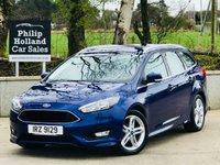 2015 FORD FOCUS 1.6 ZETEC S TDCI 5d 114 BHP ESTATE £9995.00