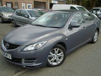 USED 2008 58 MAZDA 6 2.0 TS 5d 145 BHP GREAT VALUE DIESEL+MOT MARCH 2019