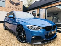 2016 BMW 3 SERIES 3.0 340I M SPORT TOURING 5d AUTO 322 BHP £23990.00
