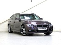 2014 BMW 3 SERIES 3.0 330D M SPORT TOURING 5d AUTO 255 BHP [INDIVIDUAL LEATHER] [PRONAV] £18787.00