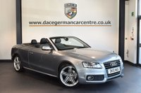 USED 2010 10 AUDI A5 2.0 TDI S LINE 2DR 168 BHP + FULL BLACK LEATHER INTERIOR + SATELLITE NAVIGATION + BLUETOOTH + HEATED SPORT SEATS + XENON LIGHTS + HEATED MIRRORS + AUXILIARY PORT + AIR CONDITIONING + 19 INCH ALLOY WHEELS +