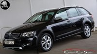 USED 2015 65 SKODA OCTAVIA 2.0TDi SCOUT 4x4 ESTATE 5 DOOR 6-SPEED 150 BHP