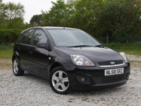 USED 2008 58 FORD FIESTA 1.2 ZETEC CLIMATE 16V 5d 78 BHP