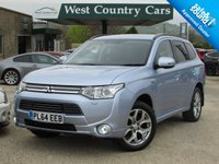 USED 2014 64 MITSUBISHI OUTLANDER 0.0 PHEV GX 4H 5d AUTO 162 BHP Only 1 Owner From New