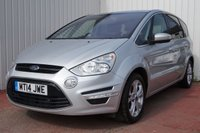 USED 2014 14 FORD S-MAX 2.0 TITANIUM TDCI 5d 161 BHP DEALER FULL SERVICE HISTORY