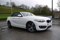 USED 2016 16 BMW 2 SERIES 2.0 218D SPORT 2d 148 BHP FULL LEATHER AND NAVIGATION