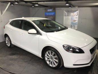 2015 VOLVO V40 2.0 D4 SE LUX NAV 5d AUTO 187 BHP £13495.00