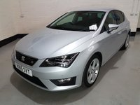 USED 2015 15 SEAT LEON 2.0 TDI FR TECHNOLOGY 5d 184 BHP 1 Owner/ Seat History(Just Serviced)/ Half Leather /Nav