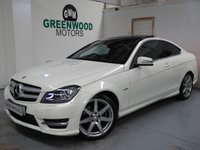 USED 2012 12 MERCEDES-BENZ C CLASS 2.1 C220 CDI BlueEFFICIENCY AMG Sport Edition 125 7G-Tronic 2dr