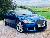 2010 JAGUAR XF 5.0 V8 R 4d AUTO 510 BHP £14985.00