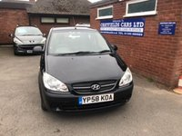 USED 2008 58 HYUNDAI GETZ 1.4 GSI 5d 96 BHP 2 OWNERS FROM NEW, 5 STAMPS