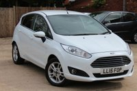 USED 2015 15 FORD FIESTA 1.2 ZETEC 5d 81 BHP **** BEAUTIFUL CONDITION  ****