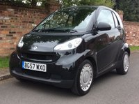 USED 2007 57 SMART FORTWO 1.0 PURE 2d 61 BHP NEW ARRIVAL, GENUINE LOW MILES, JUST SERVICED,  MOT MAR 19, EXCELLENT CONDITION,  FREE COMPREHENSIVE WARRANTY, FINANCE AVAILABLE, HPI CLEAR,