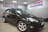 USED 2014 14 FORD FOCUS 1.6 ZETEC TDCI 5d 113 BHP DAB Radio, Bluetooth, Rear Park sensors, Cheap Tax
