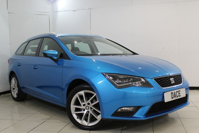 View our 2014 14 SEAT LEON 1.6 TDI SE TECHNOLOGY 5DR 105 BHP