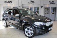 USED 2015 15 BMW X5 3.0 M50D 5d AUTO 376 BHP FULL LEATHER SEATS + FULL BMW SERVICE HISTORY + PRO SAT NAV + XENON HEADLIGHTS + 19 INCH ALLOYS + HEATED FRONT SEATS + BLUETOOTH + PARKING SENSORS + DAB RADIO
